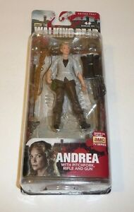 Andrea-The-Walking-Dead-AMC-TV-Show-Action-Figure-w-Pitchfork-Rifle-Gun
