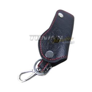 Schlüsseltasche Schlüsseletui Schlüssel Etui LEDER Weiss #1 für KIA Hyundai