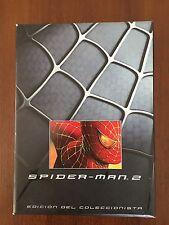 SPIDER-MAN 2 EDICION COLECCIONISTA 2 DVD + COMIC + ILUSTRACIONES + EXTRAS 122MIN