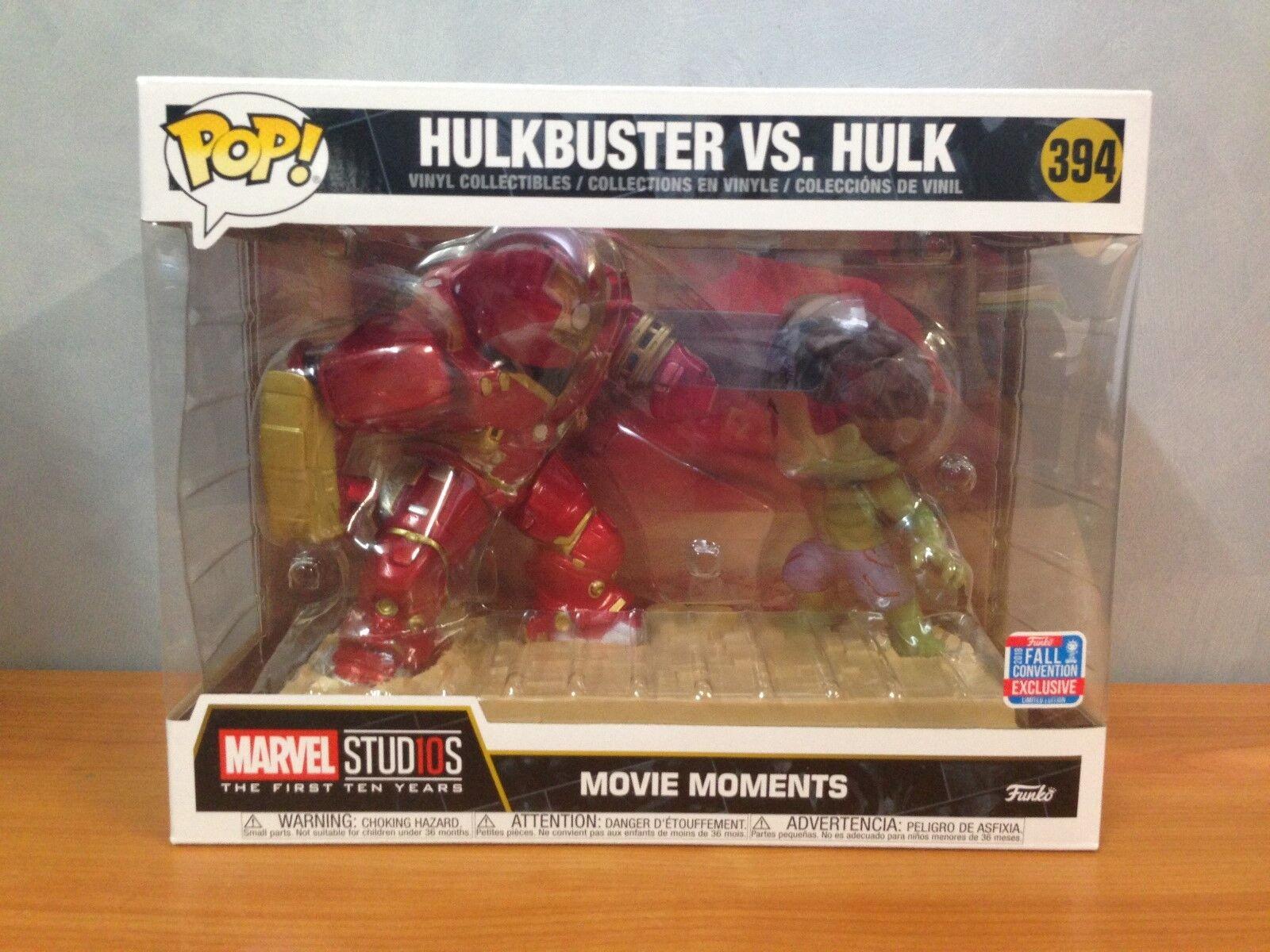 Marvel Studios Hulkbuster vs Hulk First 10 years - NYCC 2018 Funko Pop Vinyl