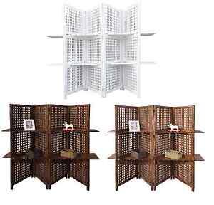 3 way display 4 panel heavy duty indian screen 2 shelves bookcase rh ebay co uk 3 shelf bookcase 2 shelf bookcase cream uk