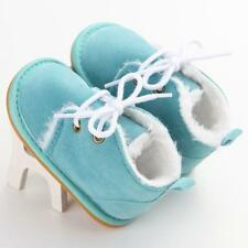 Toddler Infant Baby kids Boy Snow Boots Winter Crib Shoes Size 0-18 Months13 US