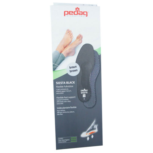 Pedag Siesta Full Length Flexible Arch Foot Support Insoles w//Metatarsal Pad