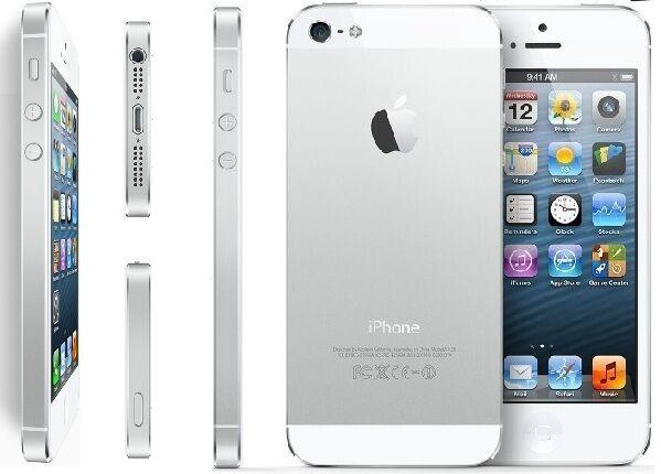 APPLE IPHONE 5 16GB BIANCO, ACCESSORI E GARANZIA, CONDIZIONI OTTIME GRADO AB