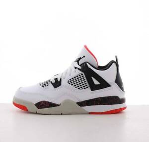 timeless design a7c38 0d3fe Image is loading New-Air-Jordan-Youth-4-Retro-PS-Shoes-