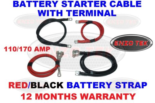 110 170 AMP HEAVY DUTY CABLE LIVE EARTH STRAP BATTERY LEAD NEGATIVE CAR VAN