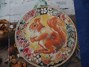 SWEET SQUIRREL SURROUNDED BY SEASONAL FRUITS AND BERRIES  CROSS STITCH CHART - <span itemprop=availableAtOrFrom>Essex, United Kingdom</span> - Returns accepted Most purchases from business sellers are protected by the Consumer Contract Regulations 2013 which give you the right to cancel the purchase within 14 days after the day yo - Essex, United Kingdom