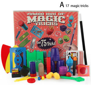 Magician Kids Magic Set Trick Kit Tricks Toy Show Beginners Children Tricks Toys