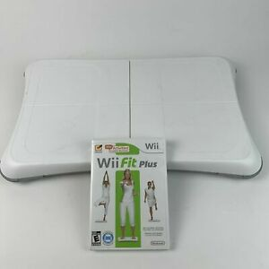 Nintendo-Wii-Fit-Balance-Board-Bundle-With-Wii-Fit-Plus-Game-Very-Good