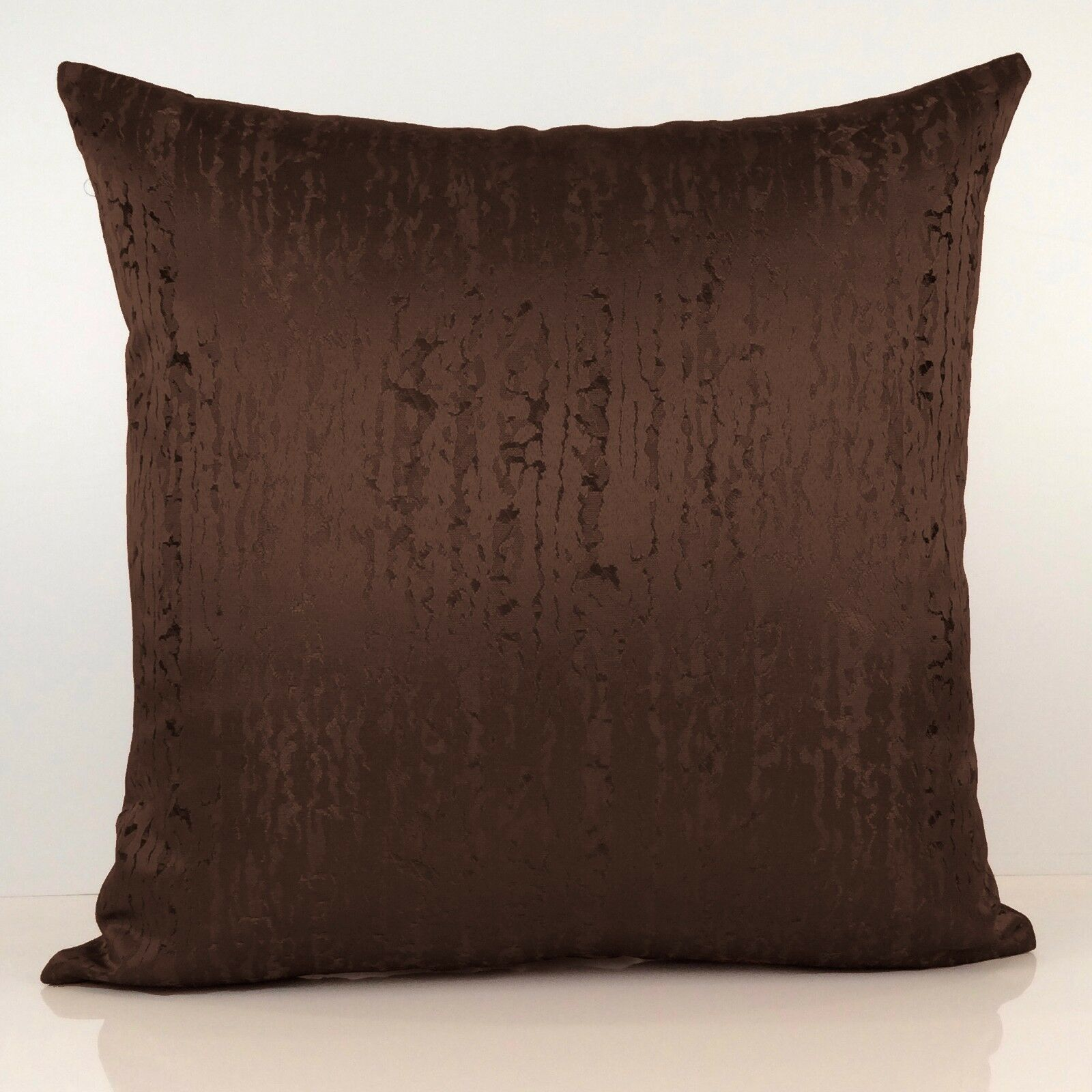 Dark Chocolate Brown Decorative Throw Pillow Cover Geometric Pattern For Sale Online