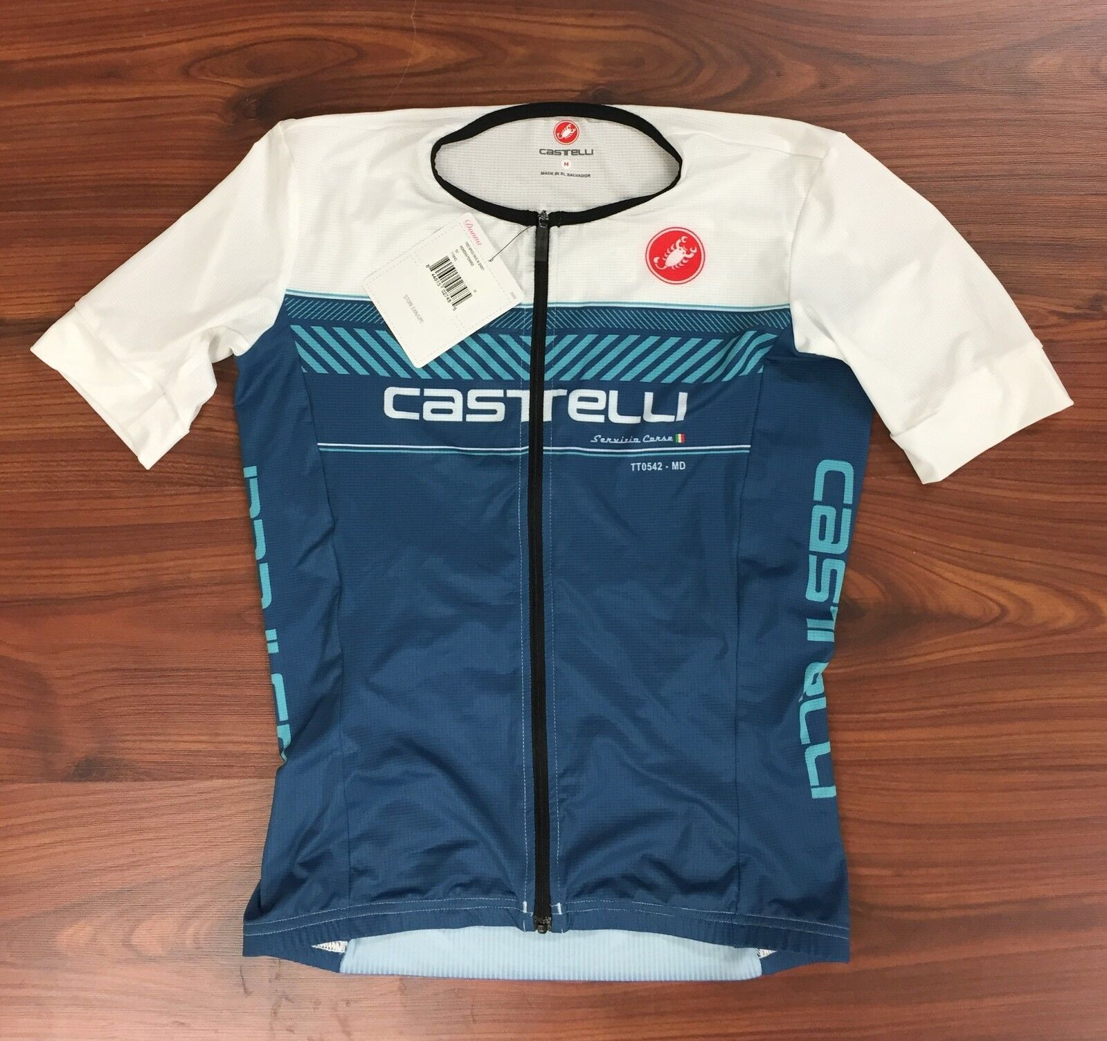 Castelli Gratis Speed Race Vrouwen Medium Jersey nieuwe met tags