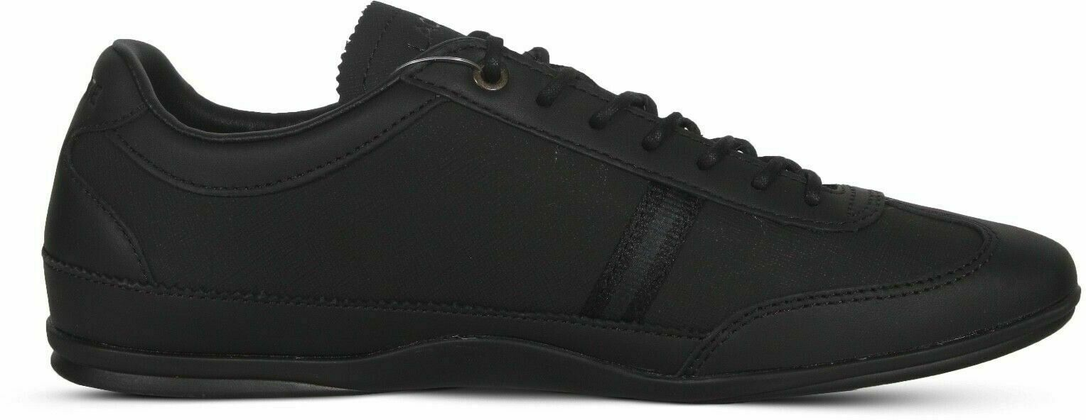 Lacoste Misano 318 1 CAM Men's Black Leather Fashion Sneakers