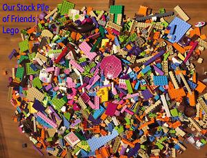 Parts Plates /& Pieces 350 Mixed Bricks LEGO Friends 500g Bundle