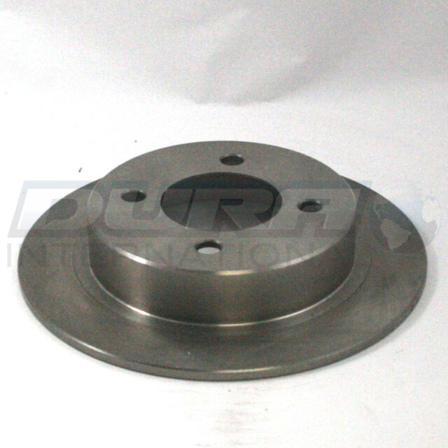 Disc Brake Rotor Rear IAP Dura BR31148 fits 91-99 Nissan Sentra
