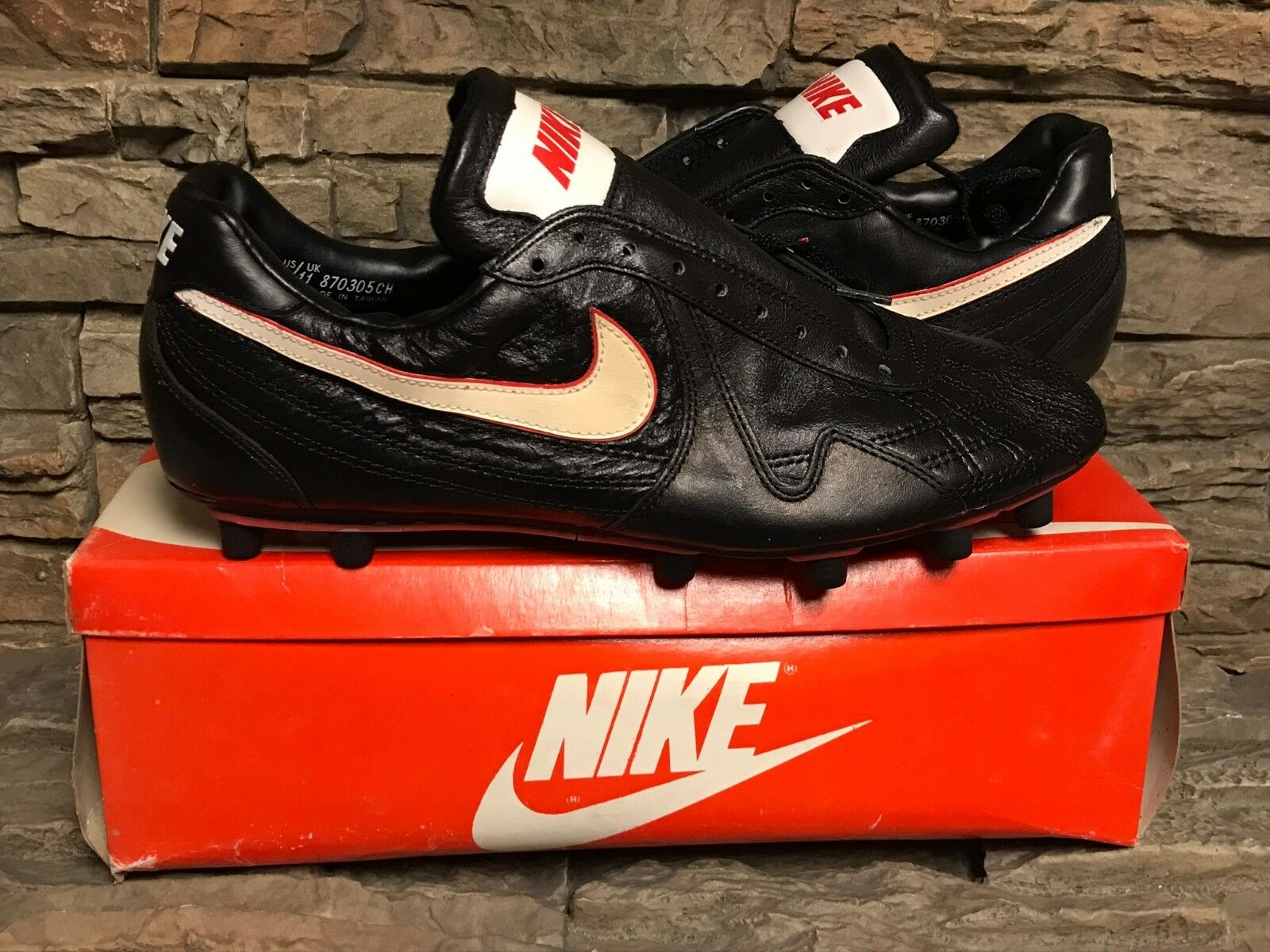 VTG OG Nike Albion Soccer Cleats Shoes New With Box NOS Uomo Sz 12
