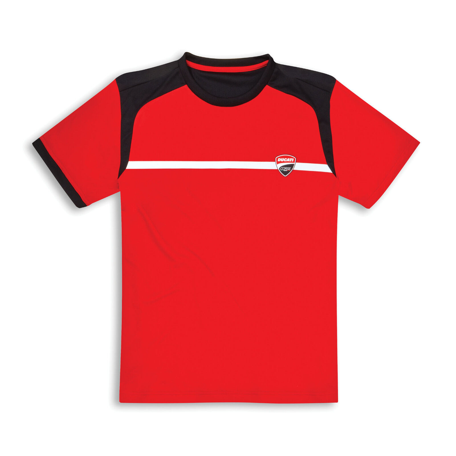 DUCATI CORSE POWER 19 RED T-SHIRT XX-LARGE 987699057