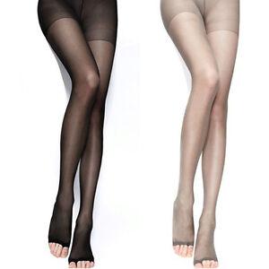 Silk pantyhose model