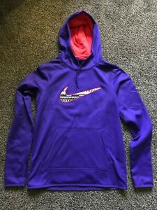 nike swoosh hoodie lavender