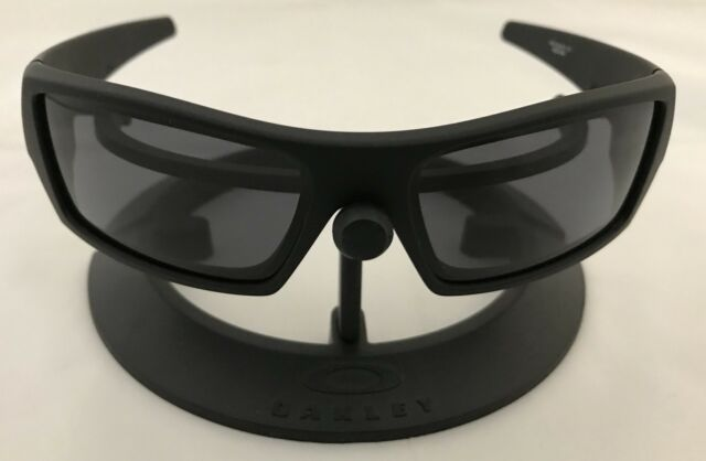 35c5bb99e4 ... coupon code for authentic oakley sunglasses gascan 03 473 60 15 matte  black frame w grey