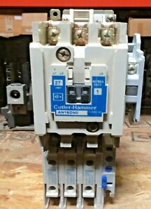 Cutler Hammer AN16DN0AB Size 1 Full Voltage Starter 120v-ac 10hp