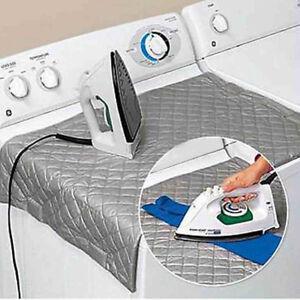 magnetic ironing mat b gelbrett bezug b gelbezug b geltisch 48 85 cm silber ebay. Black Bedroom Furniture Sets. Home Design Ideas