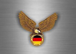 Sticker-adesivo-adesivi-auto-tuning-biker-bandiera-aquila-casco-germania