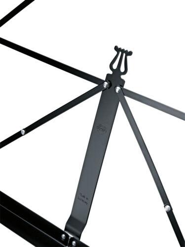Music Stand König /& Meyer 101 Standard Notenpult Notenständer in schwarz