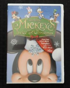 WALT-DISNEY-039-s-034-Mickey-039-s-Twice-Upon-A-Christmas-034-DVD-2004-MINT-SEALED