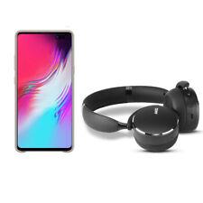 Samsung Galaxy S10 5G 256 GB Smartphone and AKG Y500 Wireless Headphones - Grey