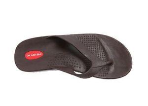 c3d7572d62ad OKABASHI Men s Surf Brown Flip Flop Sandals - Made in USA- Choose ...
