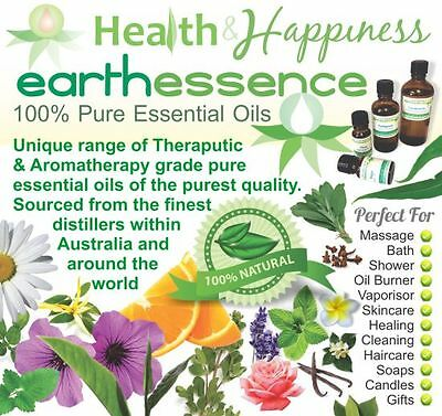 earthessence CERTIFIED 100% PURE ESSENTIAL OILS ~ Aromatherapy ~ Free Gift