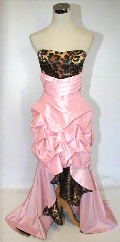 NWT WINDSOR  Rosa   Leopard Prom Party Ball Gown 5