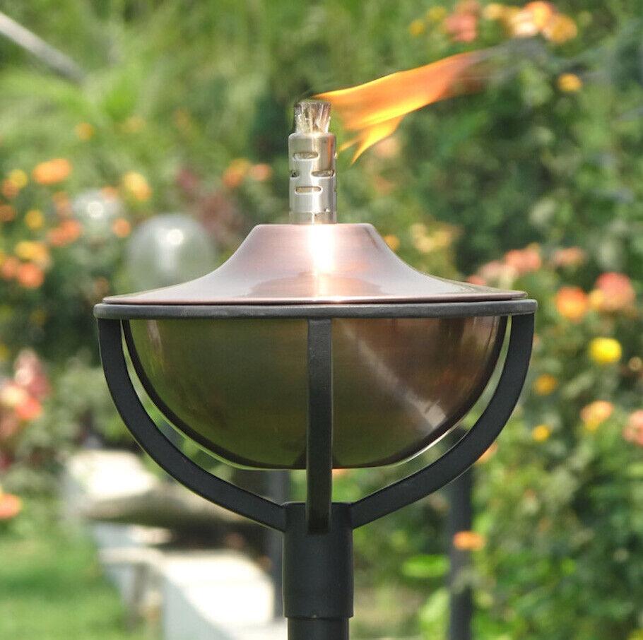 Aged Copper Garden Oil Torch - Classica