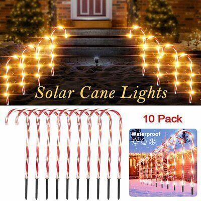 Solar Candy Cane Light //DIYTree Light Star String Fairy Lights Christmas Decor