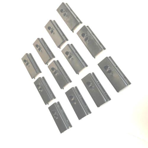 12PC FELT WINDOW CHANNEL CLIPS FIT VW Beetle//BUG  BUS TYPE 3 111837361 Split Bay