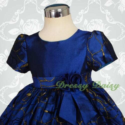 Puffy bubble Wedding Flower Girls Party Formal Occasion Dress Up Size 00-3 FG154