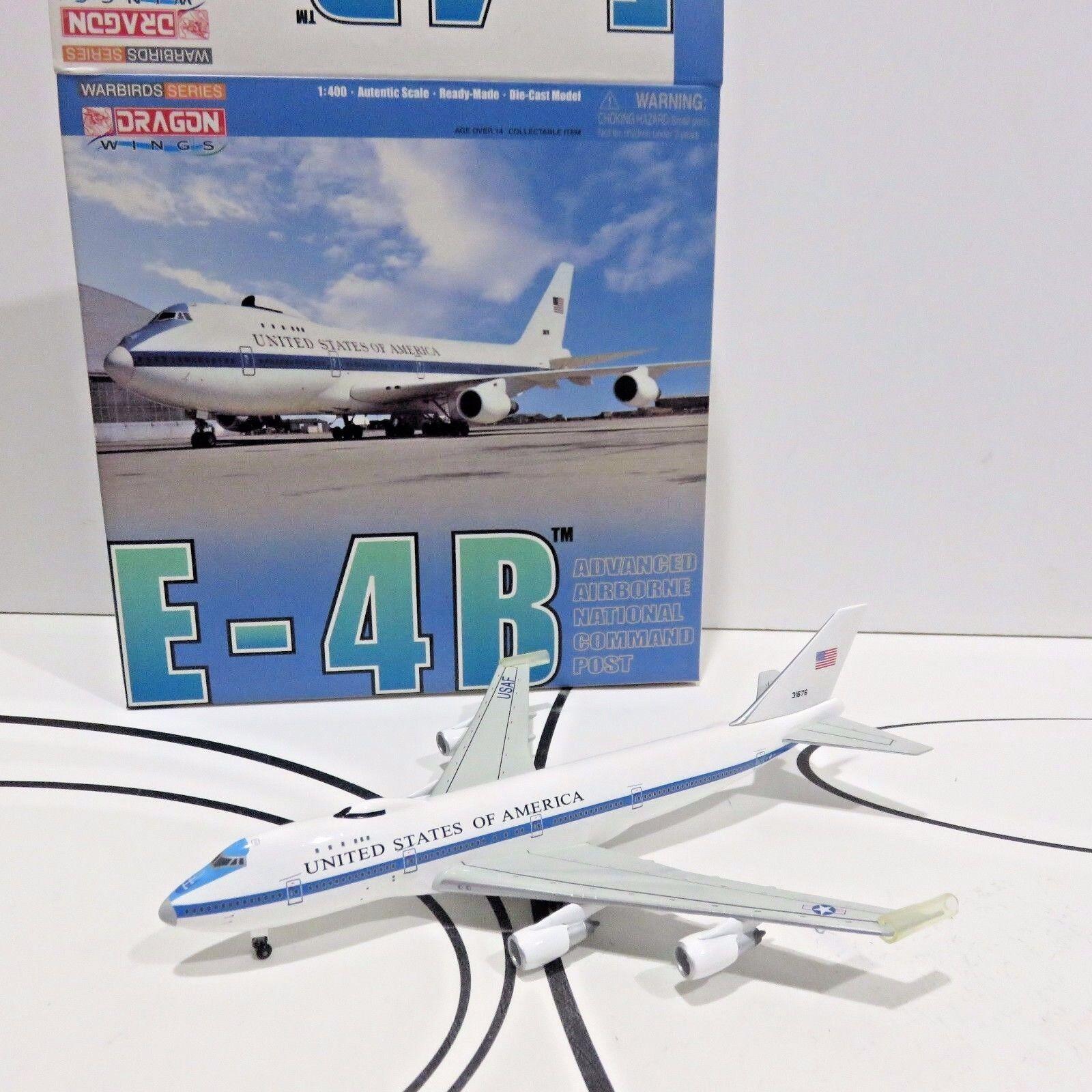 Dragon Wings 2004 Diecast 1:400 Plane, ADVANCED AIRBORNE COMM POST, Nuovo in Box