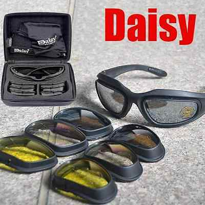 Daisy C5 Polarized Tactical Military Hunting Shooting Airsoft Hiking Goggles