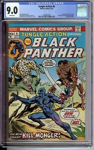 Jungle-Action-6-CGC-9-0-WP-1st-Black-Panther-solo-story-1st-app-of-Erik-Kill