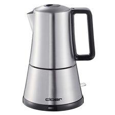 Cloer Espressokocher 5928 Edelstahl abnehmbare Kanne 365 Watt Ein-/Ausschalter