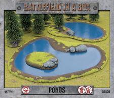 Battlefield in a Box: Ponds Terrain By Battlefront BB530