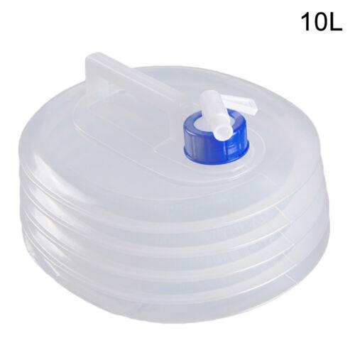 AU/_ 3//5//10//15L Outdoor Portable Foldable Water Bucket Climbing Drink Bottle Boil