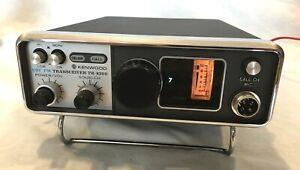 Kenwood-TR-8300-Mobile-UHF-FM-70cm-440MHz-Transceiver-Ham-Radio