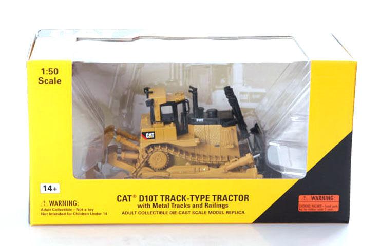 NEW Norscot 55158 Caterpillar D10T Track-Type Tractor Diecast Cat 1 50