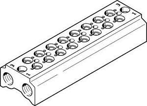 Festo-550556-CPE10-3-2-PRS-1-4-8-Manifold-block
