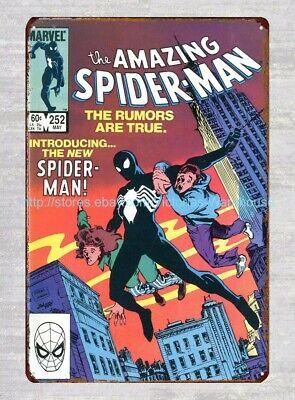 Amazing Spiderman Marvel Comics Metal Tin Sign Home Decor Ideas Ebay