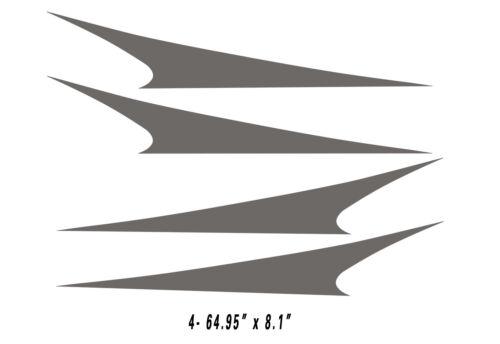 Camper RV Motor-home Large Decals//Graphics Kits 28-k-5 Trailer Hauler
