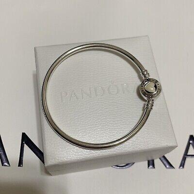 Pandora Moments Loving Heart Bangle 590746en23 Size 17 Cm Small Ebay