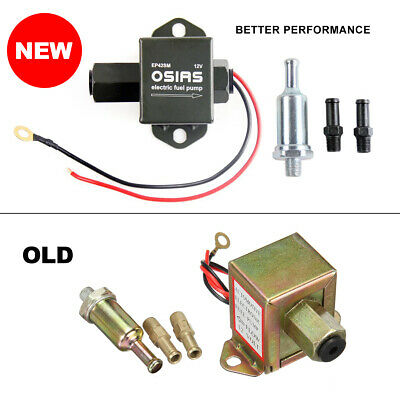New 12V Universal Electric Fuel Pump Suitable for Diesel and Petrol Engines