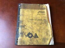 Fiat Allis Fr20 Parts Manual Catalog Book List Wheel Loader Guide